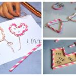 3 Fun Straw Crafts for Valentine's Day