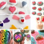 DIY Heart Rocks – Ideas & Designs for Valentines