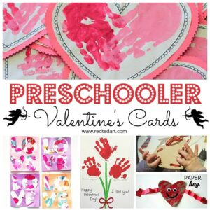 Valentine's Day Cards for Preschoolers