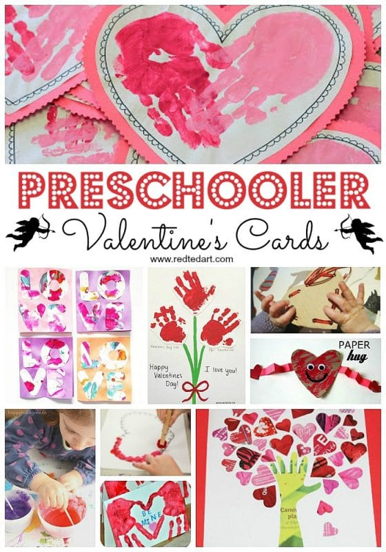 Preschool Valentine's Day Crafts