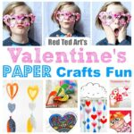 Paper Valentine's Day Ideas for Kids