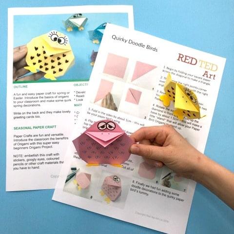 Paper Birds Lesson plan