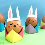 Easy Origami Egg Cups