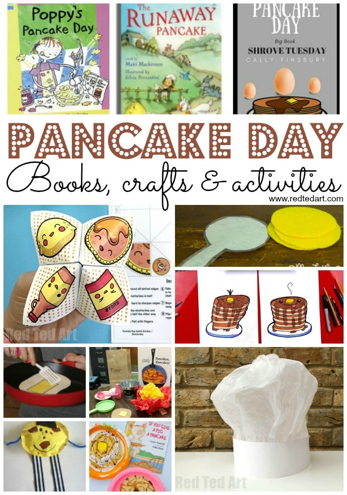 Easy Pancake Day Ideas & Activities. Learn all about Pancake Day and explore some fun Pancake Books, Pancake Day Crafts & Activities. Incl. Printables for all.