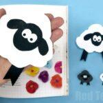 Sheep Corner Bookmark Design