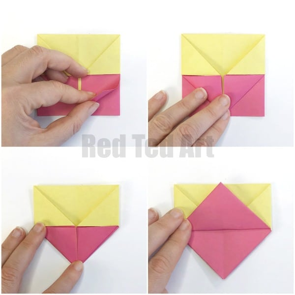 Easy Origami Egg Cups - Red Ted Art - Make crafting with kids easy ... | 600x600