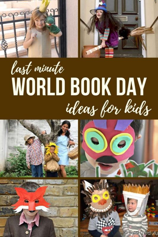 World Book Day Costume DIY ideas