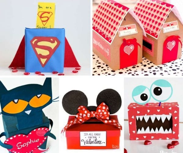 DIY Valentines and Classroom Mailbox DIY. Valentine's Day ideas for Kids. These DIY Valentine's Day Mailboxes are SO CUTE and fun. Valentine's Mailbox ideas are so cute! #valentines #mailbox #classroom
