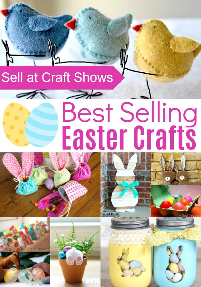 Easter Crafts To Sell At Craft Shows Red Ted Art