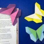 Origami Butterfly Bookmark Corner