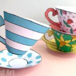 How to make a Paper Tea Cup for Mother's Day