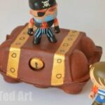 Egg Carton Crafts: Treasure Box