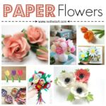 How to make paper flowers at home!