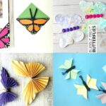 How to make butterflies out of paper