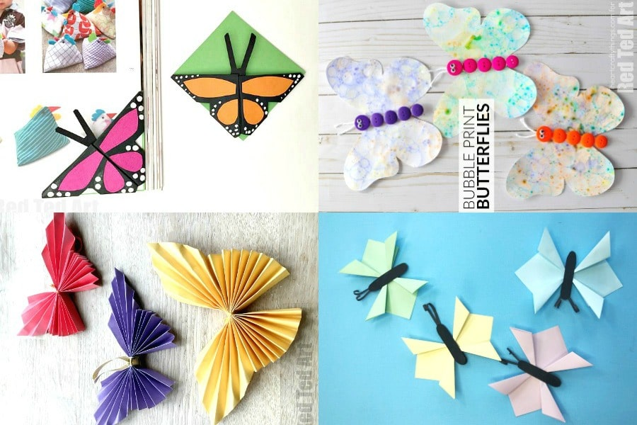 origami butterfly bookmark   Origami butterfly, Origami butterfly ...   600x900
