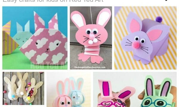 Paper Rabbit crafts step by step