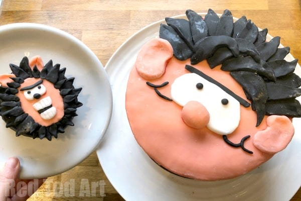 How to make a Beano Cake and have a Beano Party! Some quick and easy Beano Party Ideas, including Beano Party Favours and Beano Decor!