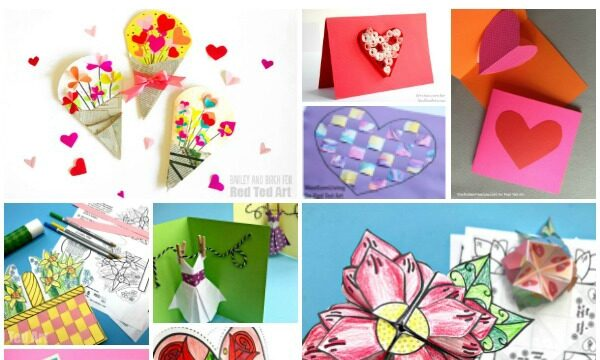 Easy Mother's Day Cards for Kids