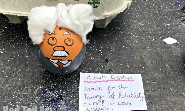 einstein egg person