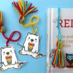 Easy Red Ted Bookmark Printable