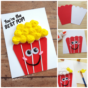 Best Pop Card Pun - popcorn themed card