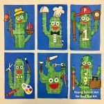 Newspaper Cactus Art for Father's Day (with Printables)