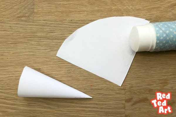 How to make a paper cone for a mouse