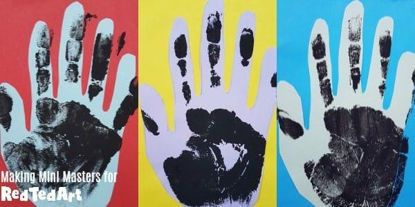 HAndy Warhol for kids
