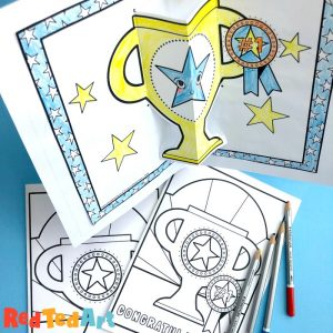 Fabulous coloring page printable Father's Day Cards