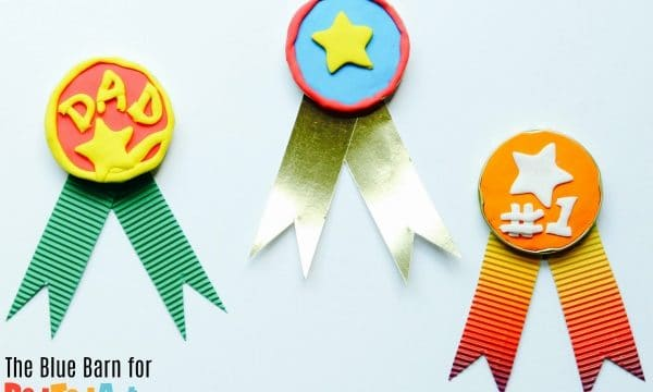 Father's Day Jar Lid Medals for kids