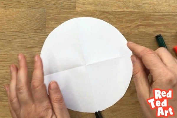 Circle to make a paper mouse