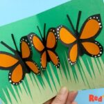 Easy Pop Up Butterfly Card