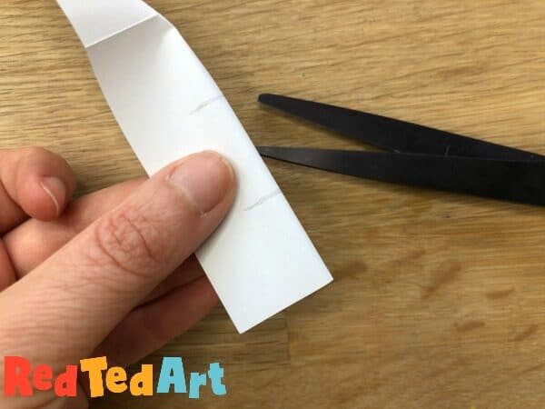 Cut for the paper locks in your no glue mini notebook