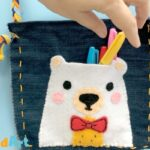 How to sew a Teddy Bear Purse – Ted Sewing for Kids