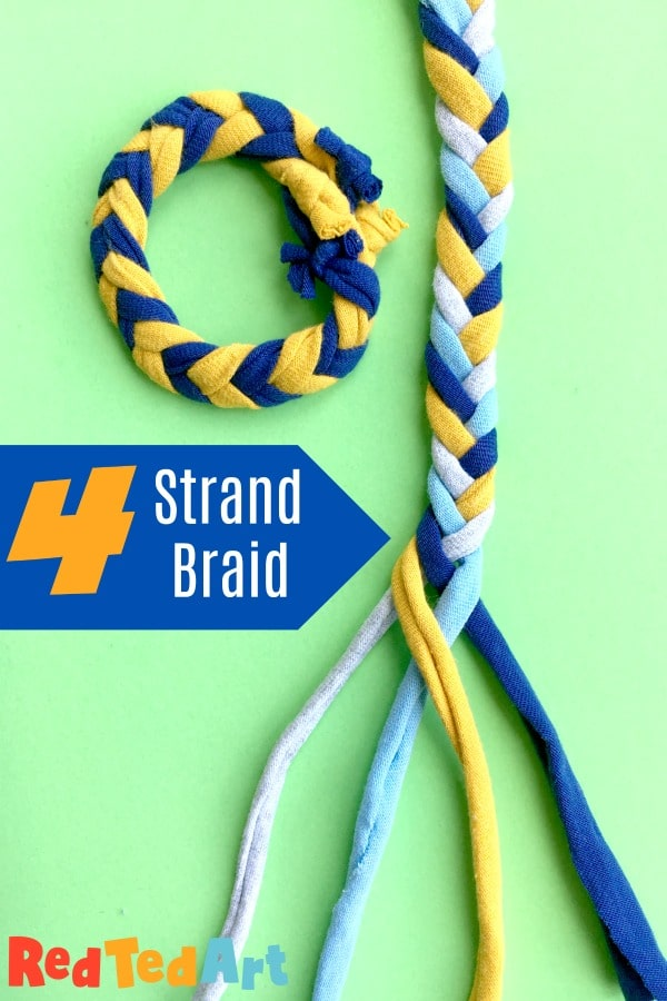4 Strand Braid How To