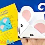 How to make mice corner bookmark