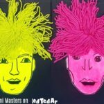 Mixed Media Andy Warhol Portraits with Kids