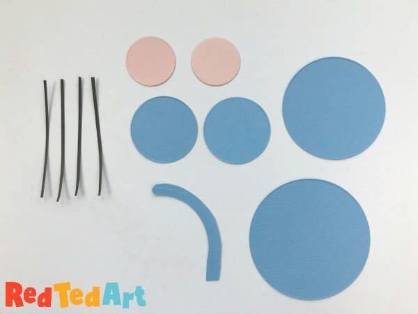 basic shapes needed for a circle mouse