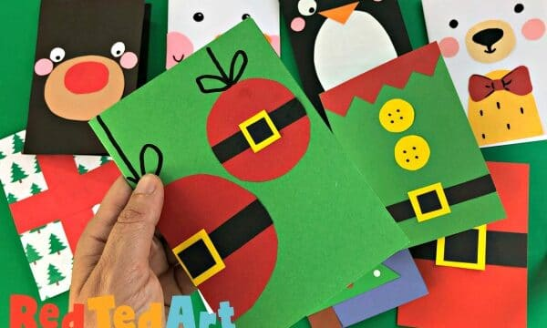 Super Simple Bauble Christmas Cards as part of our quick and easy Christmas Card series to make in bulk