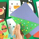 Super Simple Christmas Tree Card Design