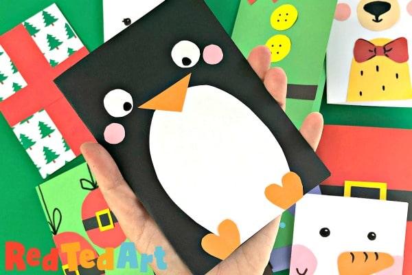 Super Simple Penguin Card Design