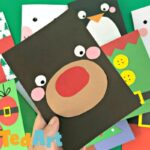 Super Simple Rudolph Christmas Card Design