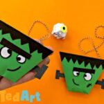 Frankenstein Origami Cup & Ball Game
