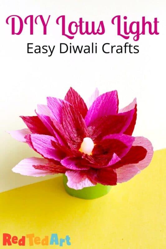 Final Paper DIY Lotus Light Holder