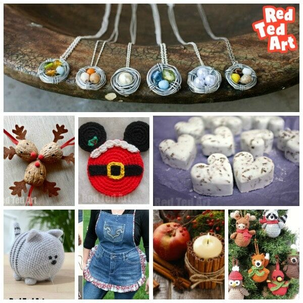 Christmas Crafts To Make And Sell.Crafts That Make Money Red Ted Art