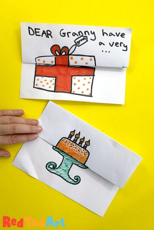 Expandable Birthday Card