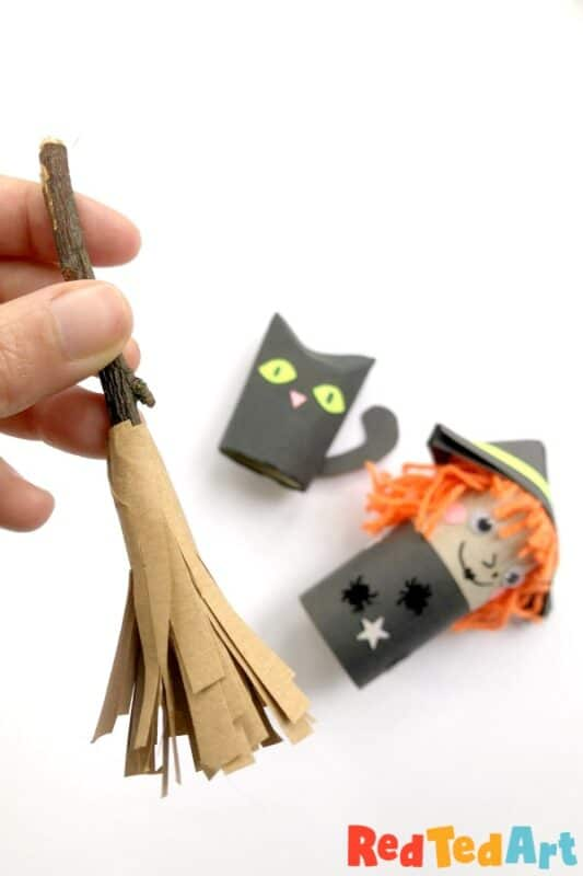 Easy Mini Broom DIY