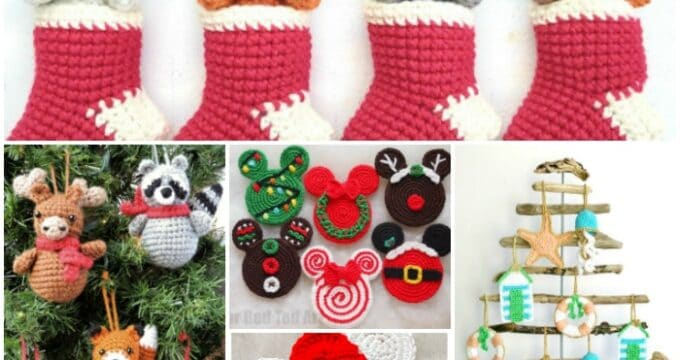 Fun Christmas Crochet Patterns - lots of free ideas!