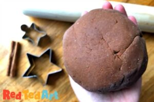 Learn how to make this great Cinnamon Playdough Recipe