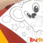 Year of the Rat Colouring Page & Pop Up Card